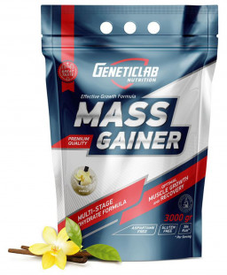 Гейнер GeneticLab MASS GAINER  (3000 г)